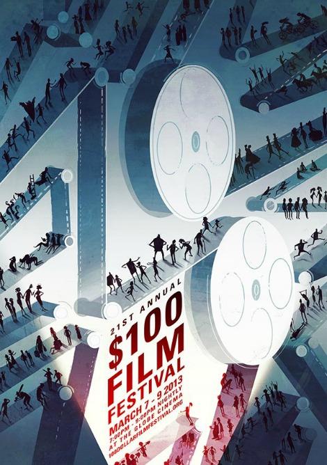 100 Dollar Film Festival-poster