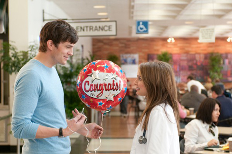 "Ashton Kutcher and Natalie Portman in ""No Strings Attached"""