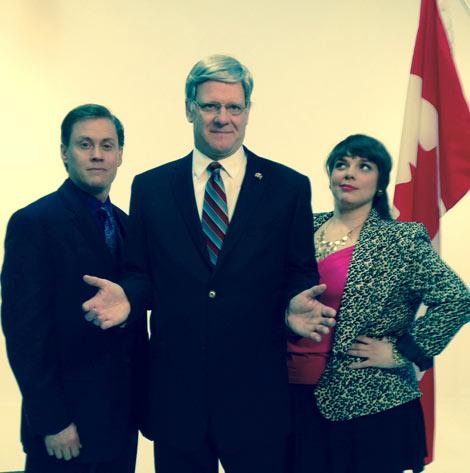 Craig Erickson, Andrew Wheeler & Emmelia Gordon in Proud.