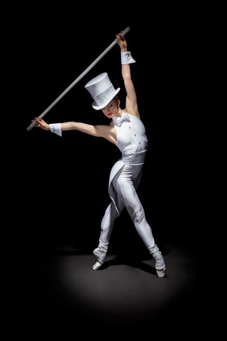 Skye Balfour Ducharme in Alberta Ballet's Class Acts.