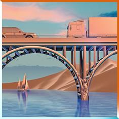 D. Tiffany's self-titled album cover art