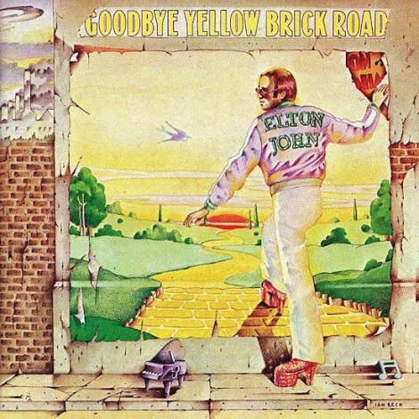 Elton John Goodbye Yellow Brick Road (re-issue)